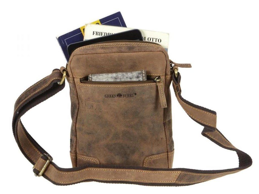 GREENBURRY 1832M - kožená pánska taška