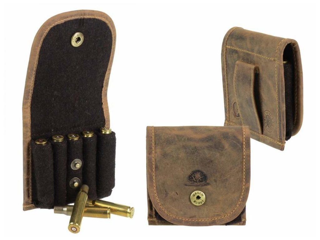 GREENBURRY 1807 - kožené púzdro na náboje