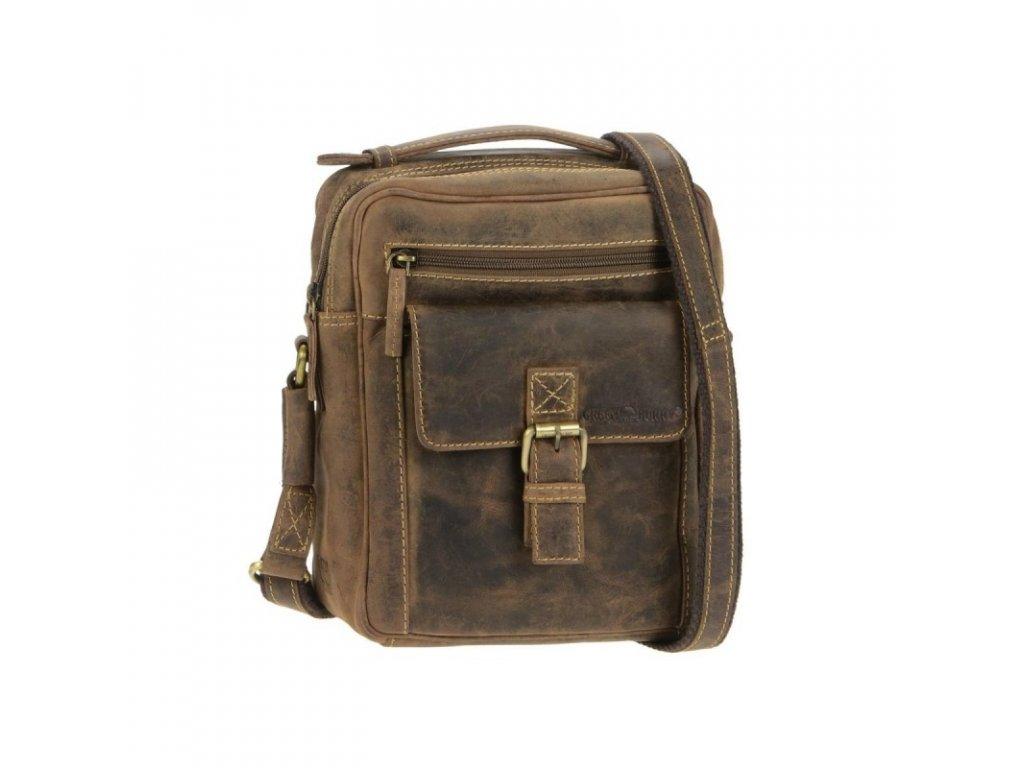 GREENBURRY 1664 - kožená taška na rameno