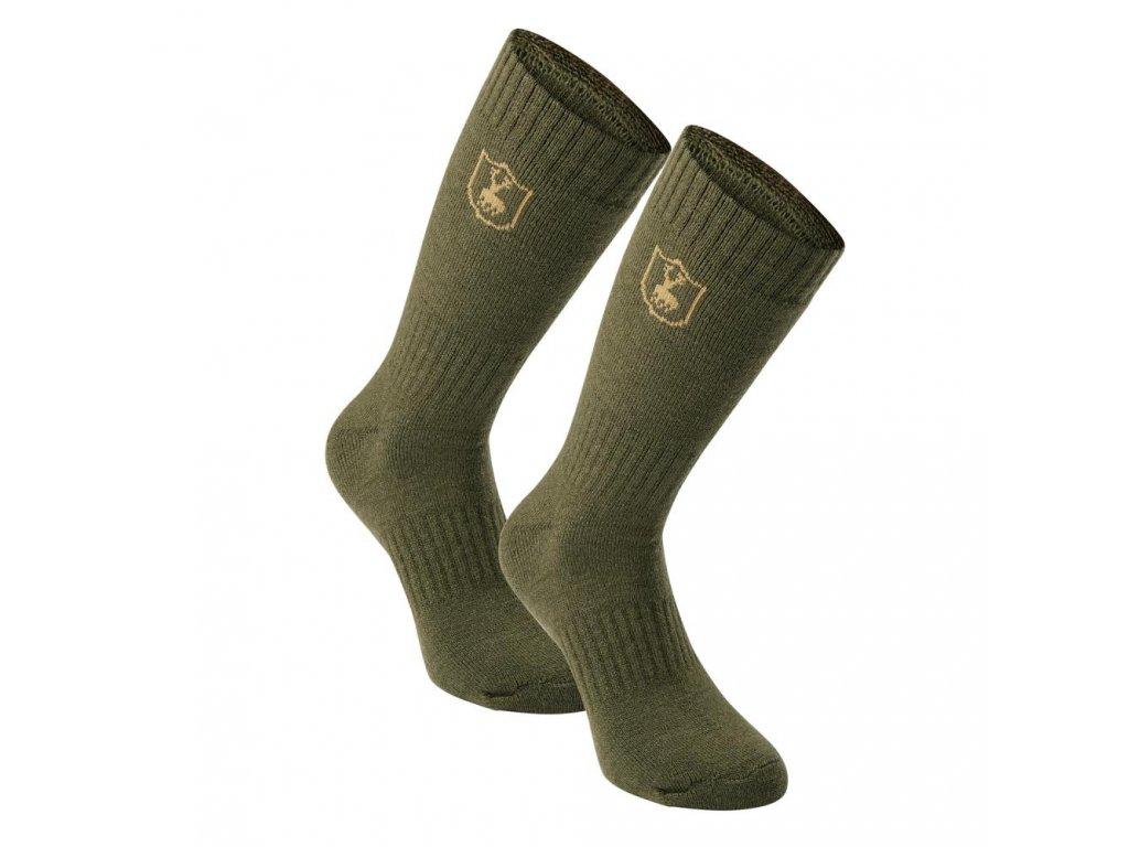 DEERHUNTER 2-Pack Wool Socks Short | ponožky dvojbalenie
