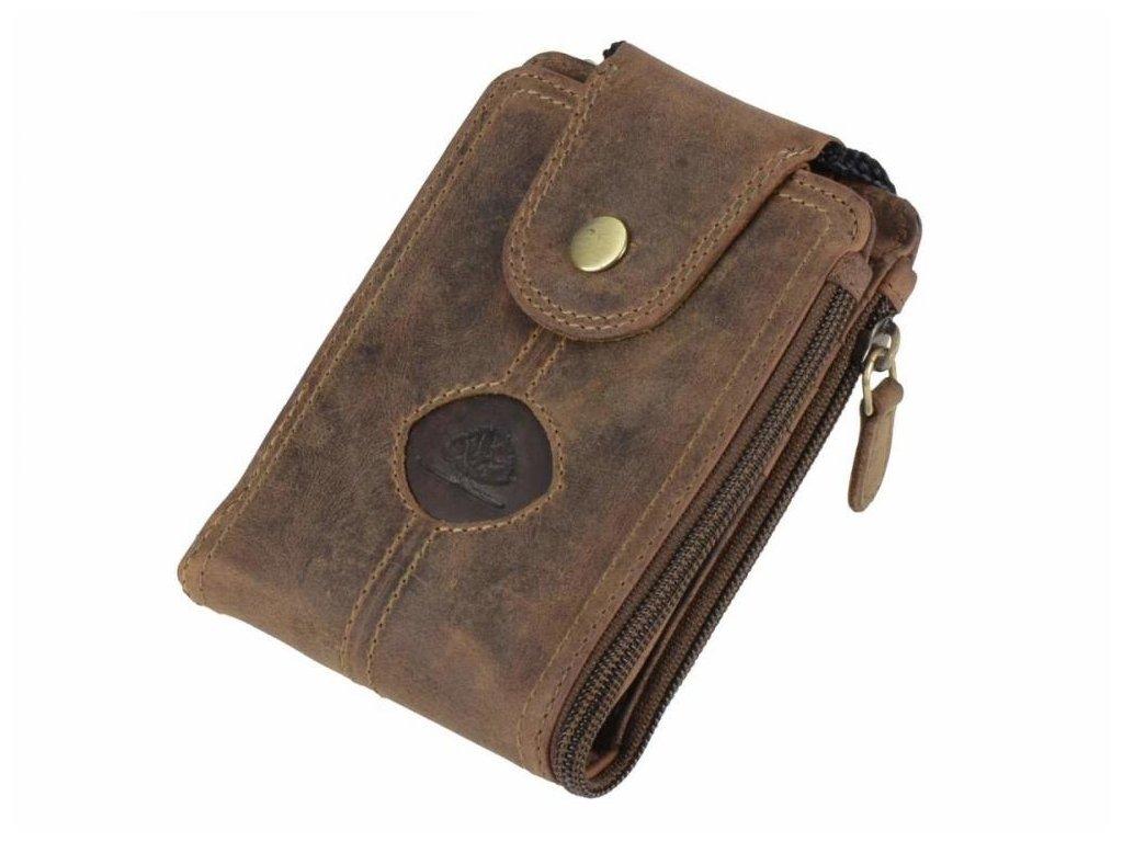 GREENBURRY 324 - kožená peňaženka hnedá