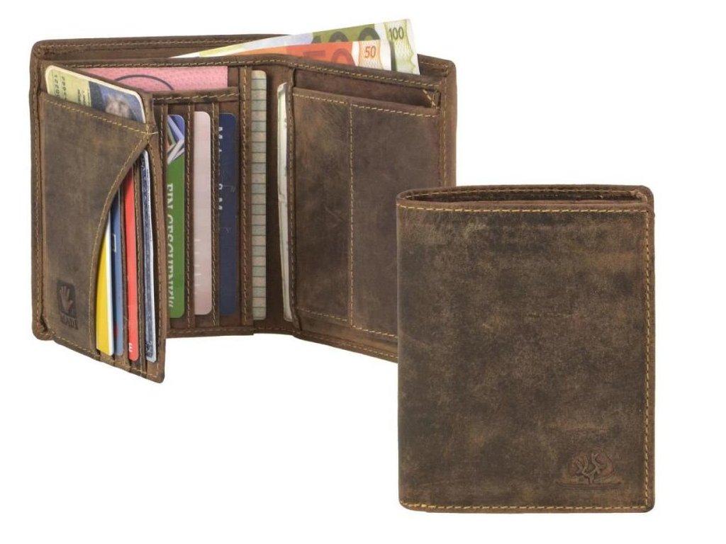 GREENBURRY 1701 - kožená peňaženka