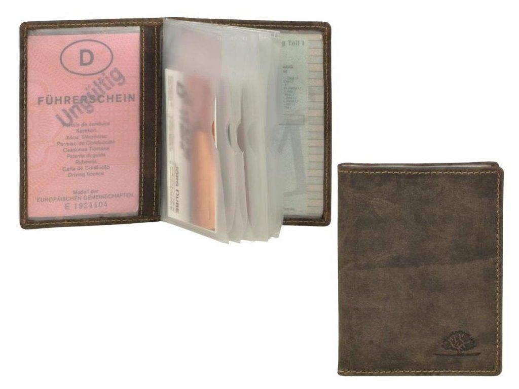 GREENBURRY 1794 - kožený dokladovník
