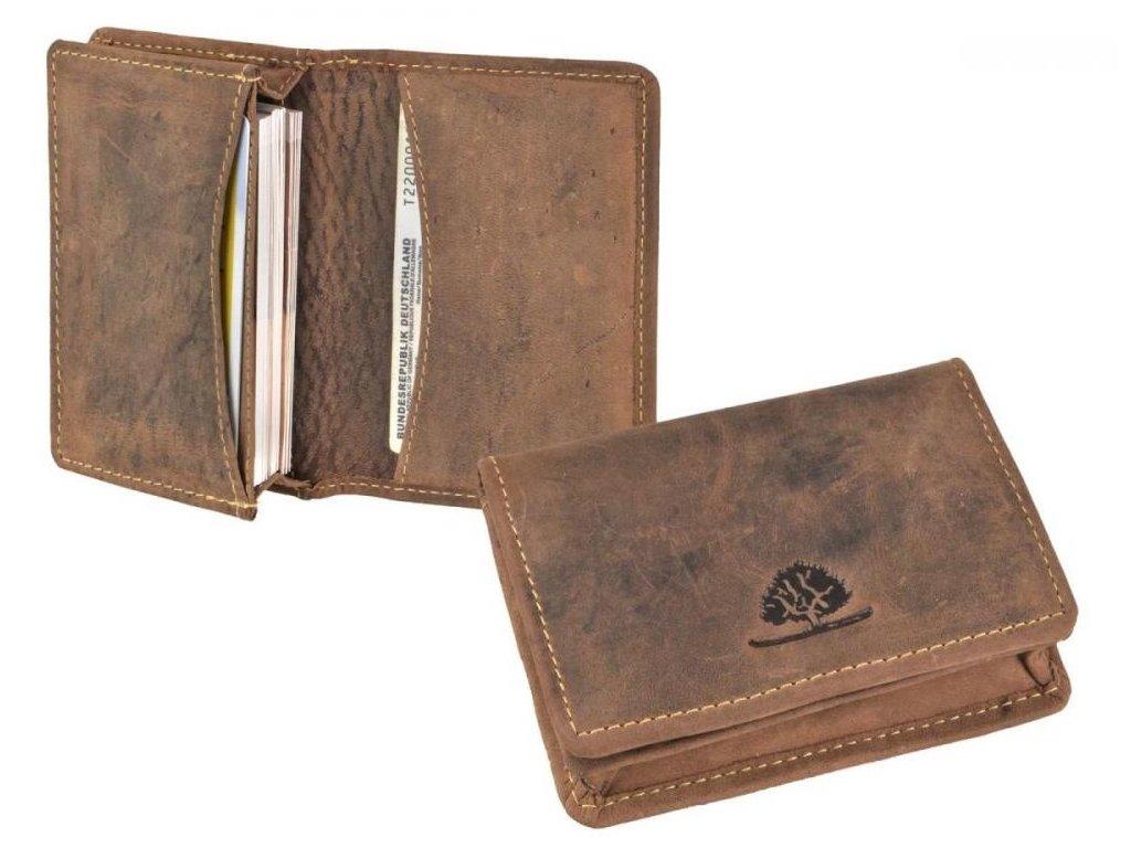 GREENBURRY 1684 - kožené púzdro na karty