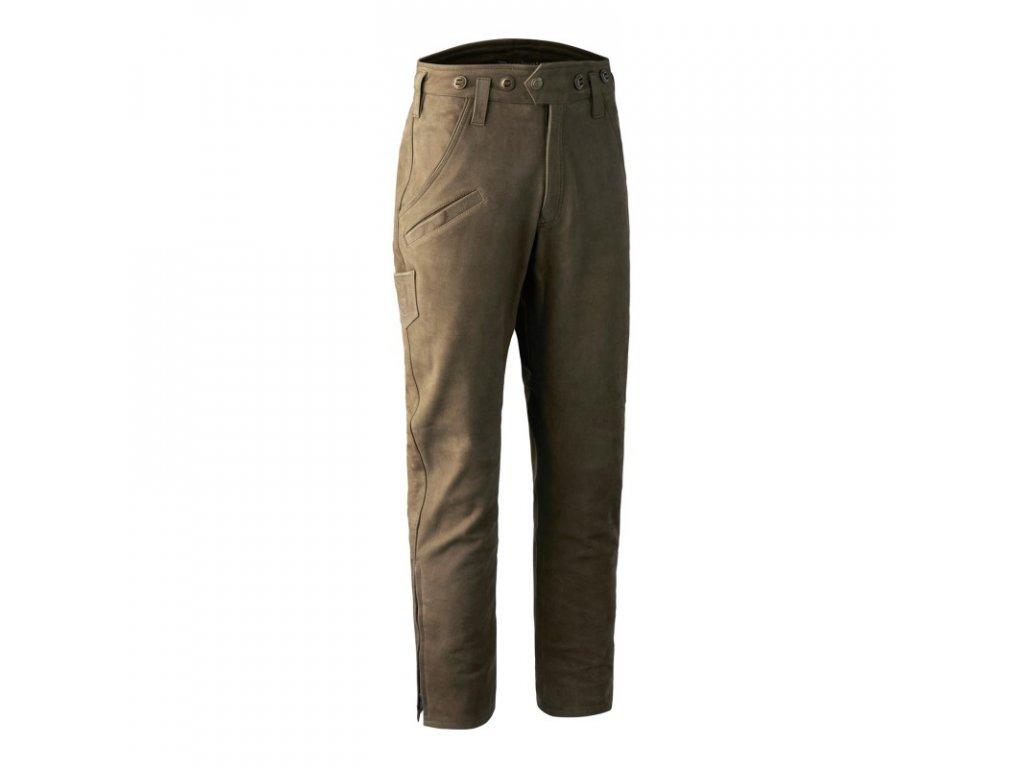 DEERHUNTER Strassbourg Leather Boot Trousers | kožené nohavice
