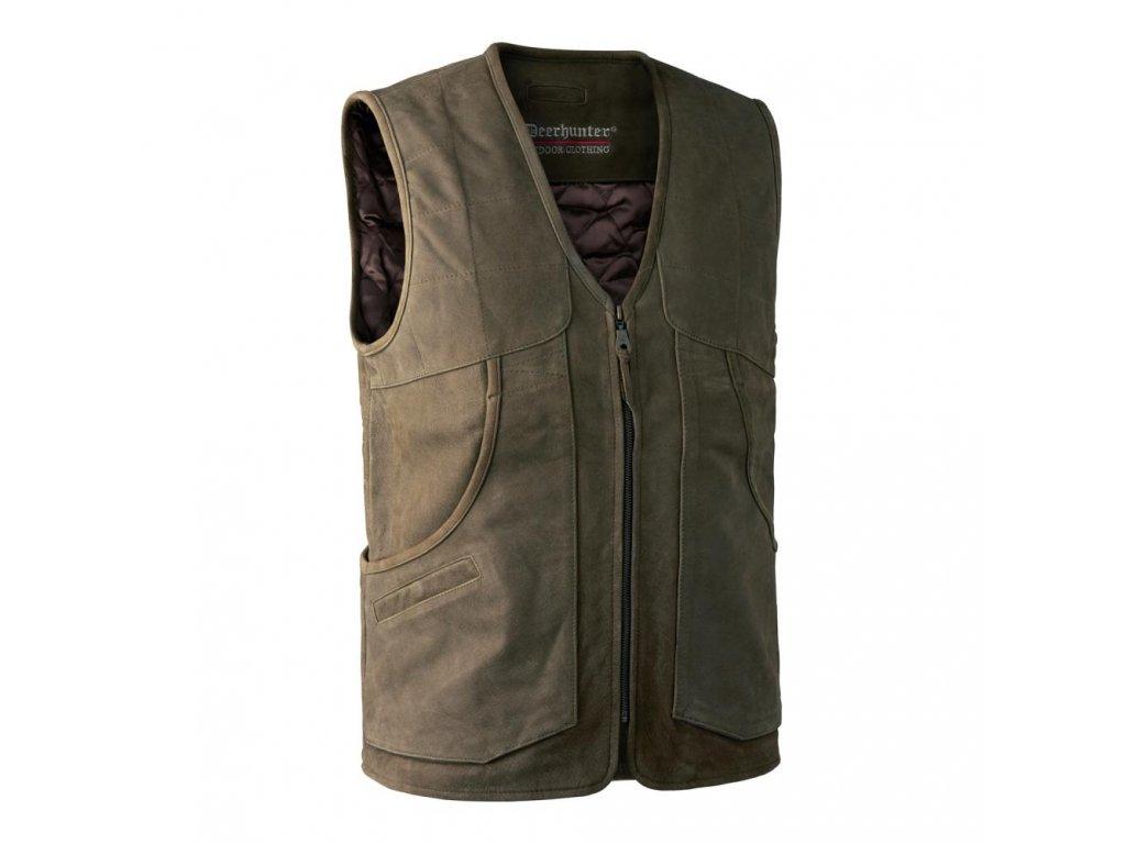 DEERHUNTER Strassbourg Leather Waistcoat | kožená vesta