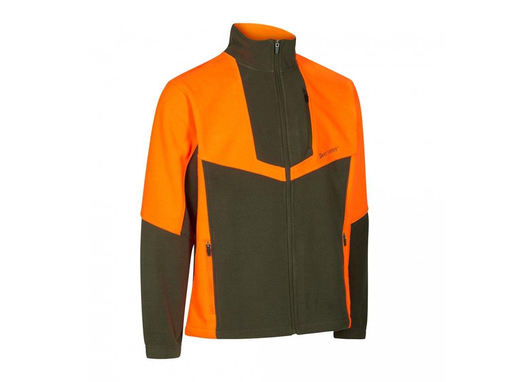 DEERHUNTER Schwarzwild III Fleece Jacket | flísová bunda