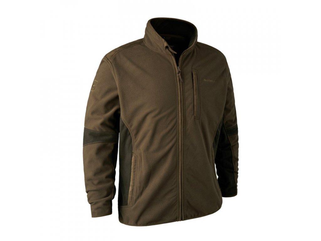DEERHUNTER Gamekeeper Bonded Fleece Jacket | flísová bunda