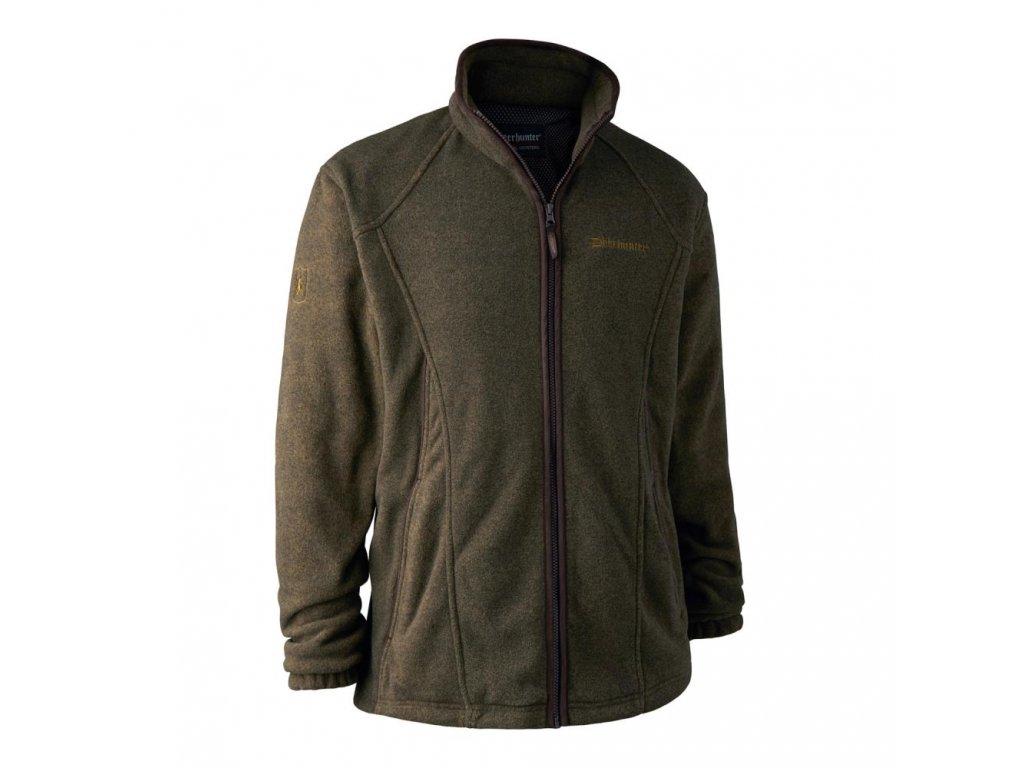 DEERHUNTER Wingshooter Membrane Fleece Green | flísová bunda