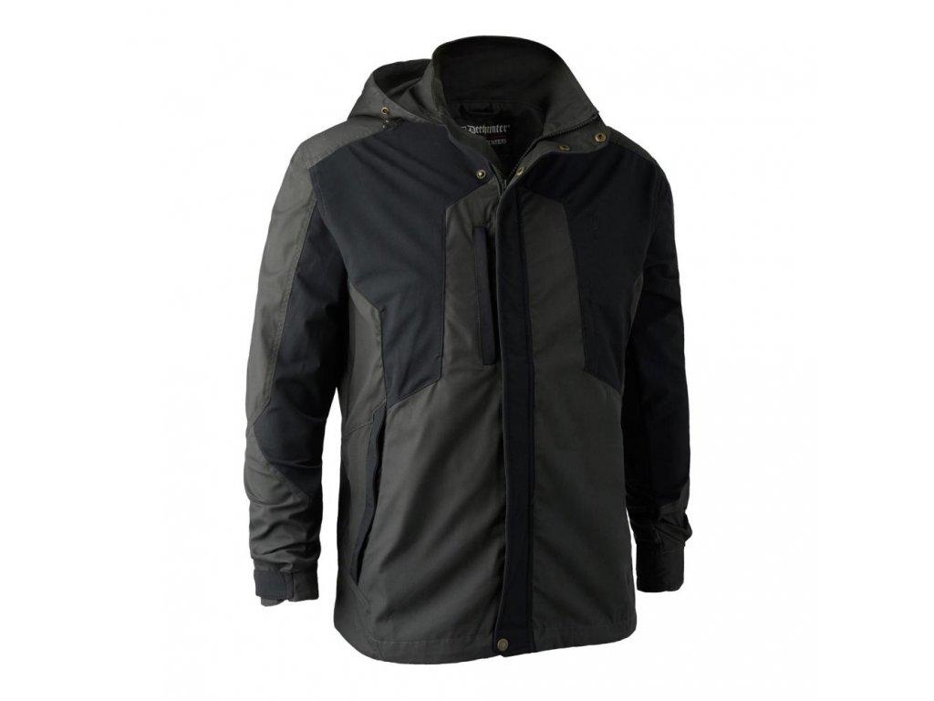 DEERHUNTER Strike Jacket Black | strečová bunda