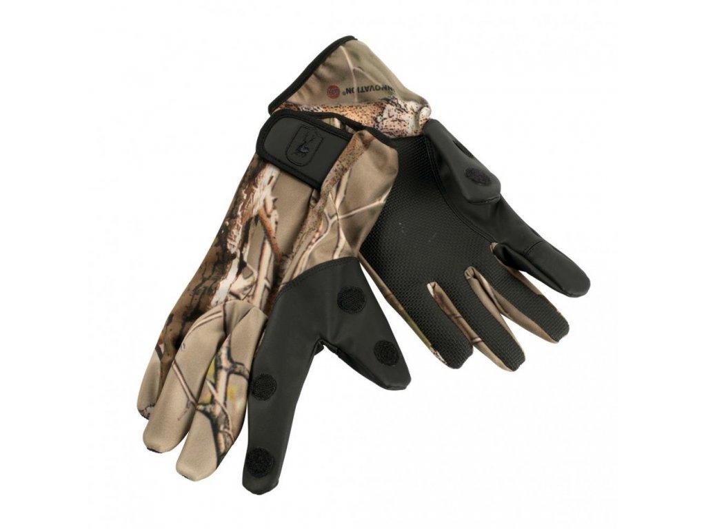 DEERHUNTER Cheaha Gloves GH | kamuflážne rukavice