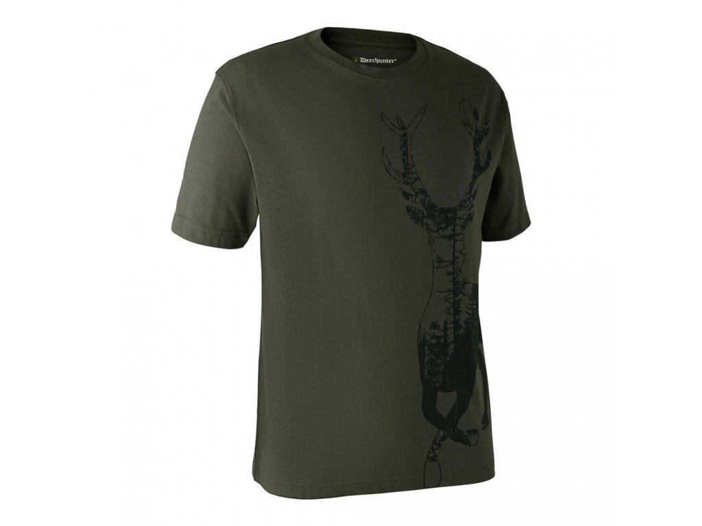 DEERHUNTER T-shirt with Deer | poľovnícke tričko