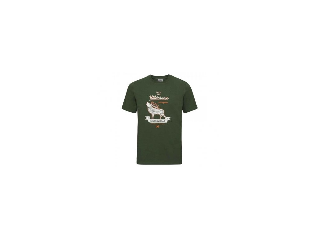 Pánske tričko Merkel Organic-Stag