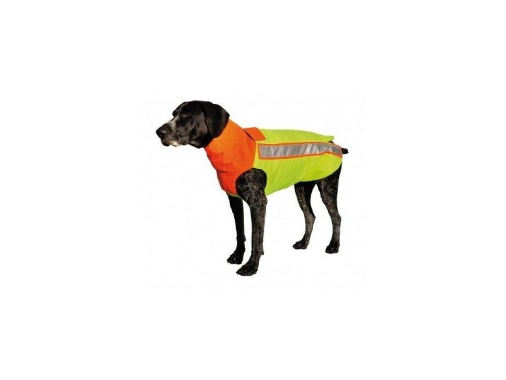 Bezpečnostná kevlarová vesta pre psa