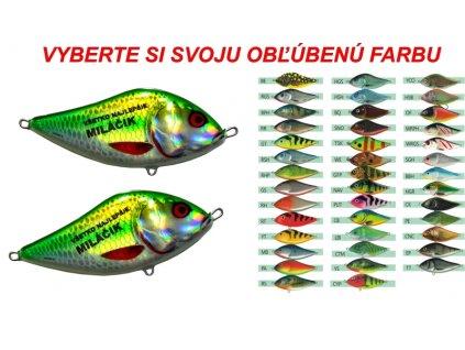 Rybárska magnetka wobler - Všetko najlepšie miláčik