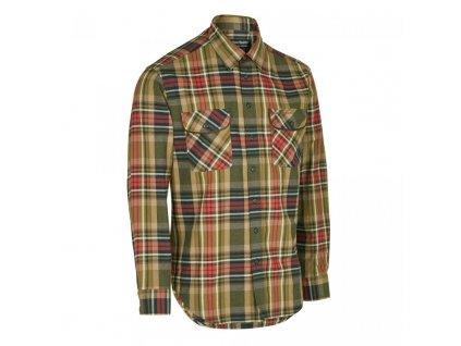 DEERHUNTER Gabriel Suede Details Shirt | poľovnícka košeľa