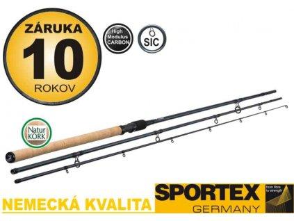 Match prúty SPORTEX XCLUSIVE FLOAT LIGHT NT 3-diel
