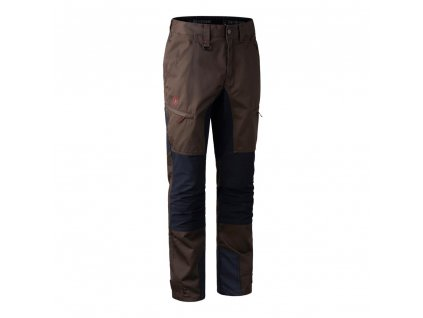 DEERHUNTER Rogaland Contrast Trousers Brown | strečové nohavice