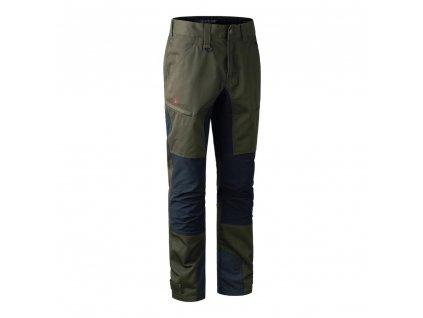 DEERHUNTER Rogaland Contrast Trousers Green | strečové nohavice