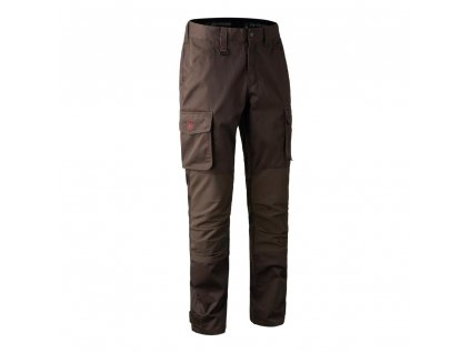 Deerhunter Rogaland Stretch Trousers Brown - pánske nohavice