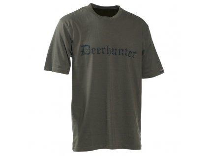 Deerhunter Logo T-Shirt - tričko s nápisom