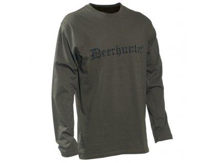 DEERHUNTER Logo T Shirt | nátelník s nápisom
