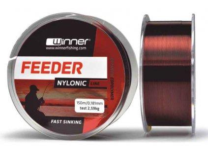 Feeder silon rýchlo potápavý Feeder nylonic line