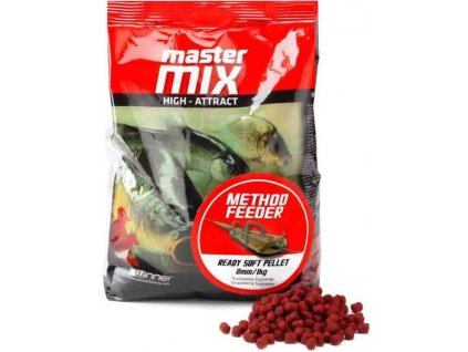 Method Feeder Ready Soft Pellet 8mm/1kg, mäkké pelety