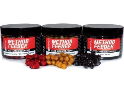 Method/Feeder - Jelly Boilies & Chunks 140g - potápavé