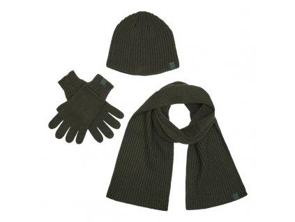 DEERHUNTER 3pcs Winter set   čiapka šál a rukavice