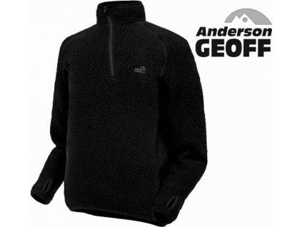 Thermal 3 pulóver Geoff Anderson - čierny