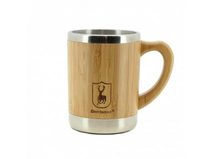 Deerhunter Bamboo Thermo Cup w. Handle - termohrnček