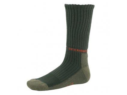 DEERHUNTER Game Socks Green | poľovnícke ponožky