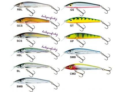 Salmo rybarske voblery sting S12SP