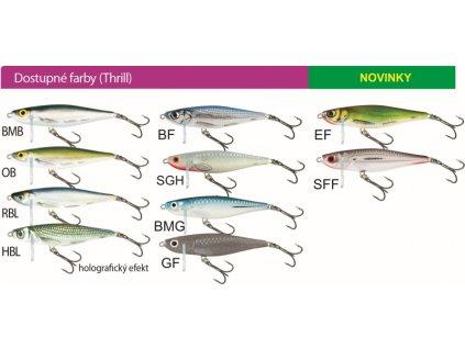 Salmo rybársky wobler THRILL TH7