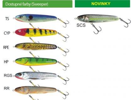 Salmo rybarske voblery Sweeper SE12S