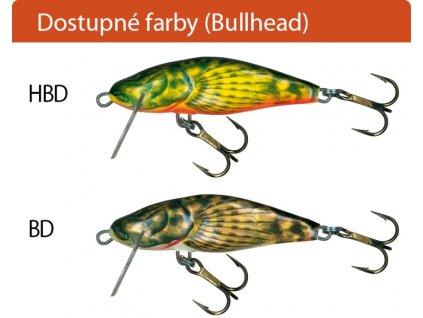 Salmo rybarske voblery bullhead BD4S