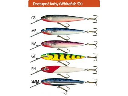 Salmo rybarske voblery whitefish SW13SX
