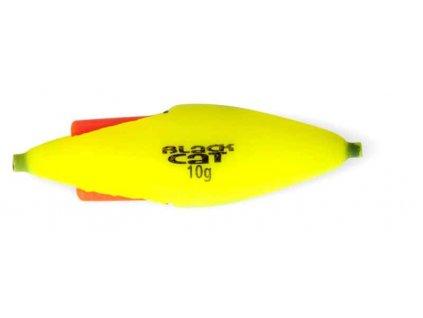 Sumcový podvodný plavák na chemické svetlo - žltý