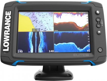 Dotykový sonar LOWRANCE Elite-7Ti so sondou na more