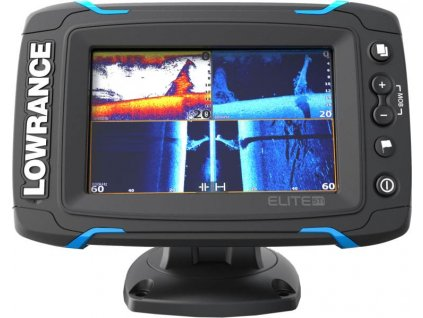 Dotykový sonar LOWRANCE Elite-5Ti so sondou na more