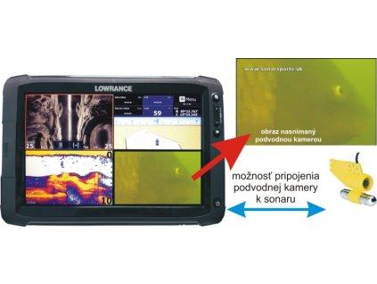 Podvodná kamera k dotykovým HDS GEN2 9 a 12 sonarom