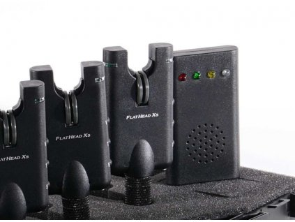 FlatHead Xs - SPORTS SET 3x Signalizátor + priposluch