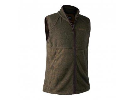 DEERHUNTER Wingshooter Fleece Waistcoat Green | vesta
