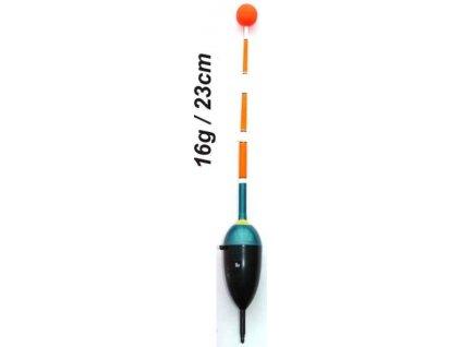 Plavák na ryby, dĺžka 230mm / nosnosť 16 gr
