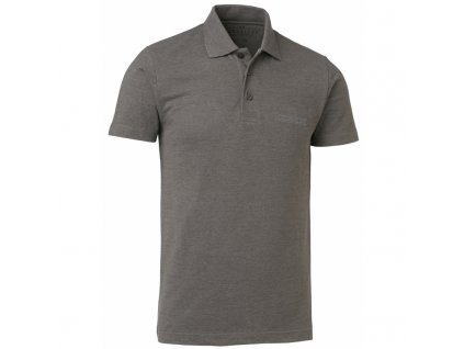 Tričko Chevalier Whats Pique Shirt šedá