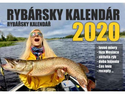 SPORTS Rybársky kalendár s receptami 2020