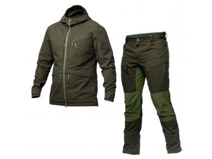 men ranger set green