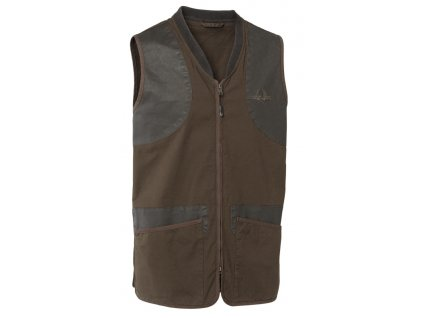 chevalier devon shooting vest brown vesta