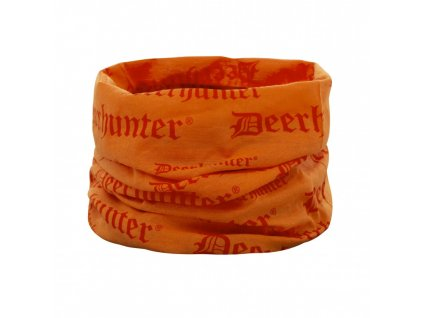 deerhunter logo neck tube orange nakrcnik